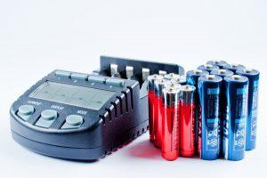 batterie rechargeable avec chargeur